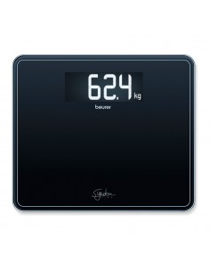 Beurer Báscula vidrio -GS 410 SignatureLine Black con pantalla XXL