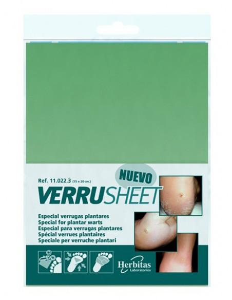 Verruga plantar Tratamiento Verrusheet Herbitas 1