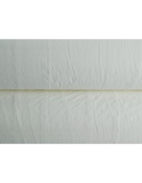 Papel camilla 50 m x 49 cm. Precorte 40 cm.Caja de 6 rollos 4