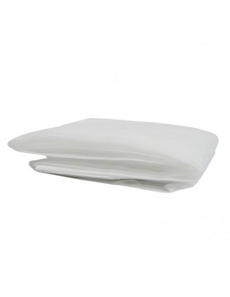 1 Uds. Sabanilla desechable ajustable 40 g. para camilla de 95 cm x 220 cm. 1